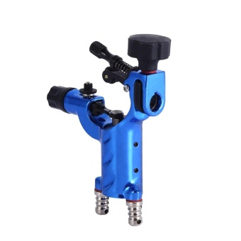 Buy 1 Get 1 Free Gift:Professional Electric Rotary Shader Tattoo Machine Makeup Tool (Blue) - intl - 3