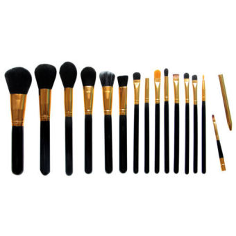 [Buy one get one free gift] 15Pcs Makeup Brushes Pro Cosmetic Make Up Brush Set Superior Soft - 2