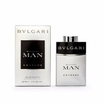 Bvlgari Man Extreme Bvlgari Eau De Toilete for Men 100ml