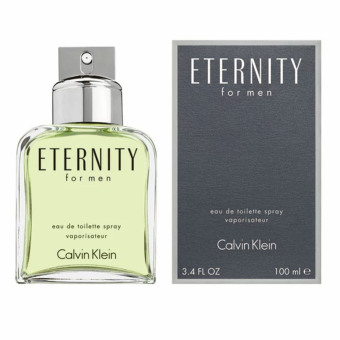 Calvin Klein CK Eternity Eau De Toilette Spray for Men 100ml