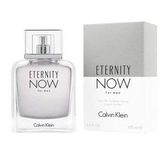 Calvin Klein Eternity Now Eau de Toilette for Men 100ml with FreeMen's Watch - picture 2