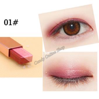 Candy Online Korea NOVO Double Color Gradient Velvet Eye Shadow Make Up Eye Liner Pen #1 - 2