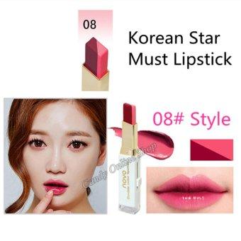 Candy Online Korea NOVO Double Color Lipstick Makeup Moisturizing Color Gradient Lipstick #8 - 3