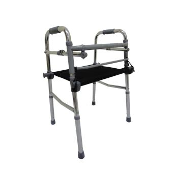 Care&Cure Medical Walker Aid Reciprocal with Removable Seat(Silver) Price Philippines