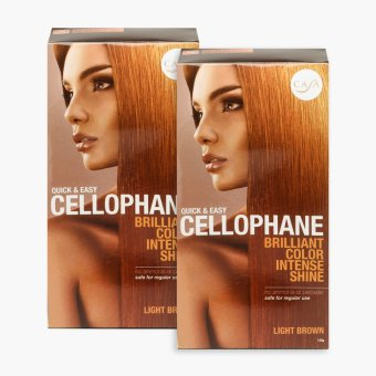Casa Light Brown Quick & Easy Hair Cellophane 125g (Set of 2) Price Philippines
