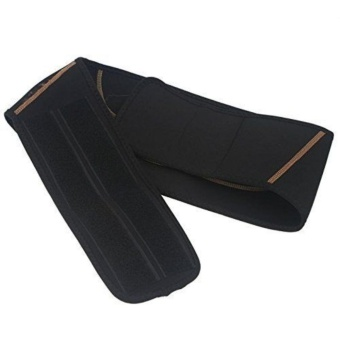 Catwalk Men Women Copper Back Pro Lower Back Support Lumbar Compression Belt Closure - intl - 3