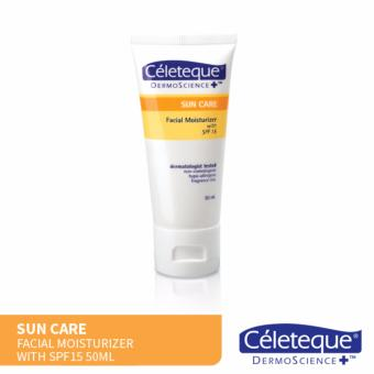 Céleteque Dermoscience Sun Care Facial Moisturizer SPF15 50mL