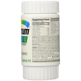 Centrum Multivitamin/Multimineral Supplement, Adults 30 caps(Expiration 03/2019) - 2
