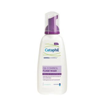 Cetaphil DermaControl Oil Control Foam Wash for Acne Prone Skin - 2