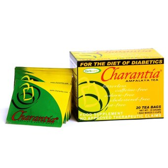 Charantia Ampalaya Food Supplement Tea Bags Box of 20