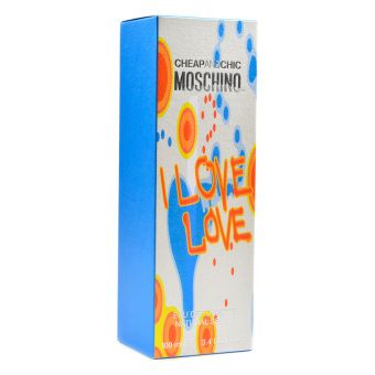 Cheap and Chic Moschino I Love Love Eau de Toilette for Women 100ml - picture 2