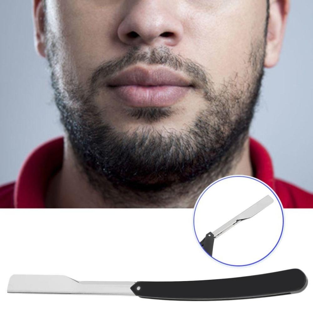 CHEER Barber Stainless Steel Straight Edge Salon Folding Shaver - intl