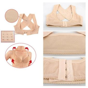 Chest Support Belt Posture Corrector Brace X Type Size Back Shoulder Vest - intl Price Philippines