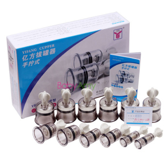 China Medical Twist Cupping 12cups Magnet Massage Vacuum TherapyAnti-cellulite Set magnetic acupuncture Vacuum Cupping Set