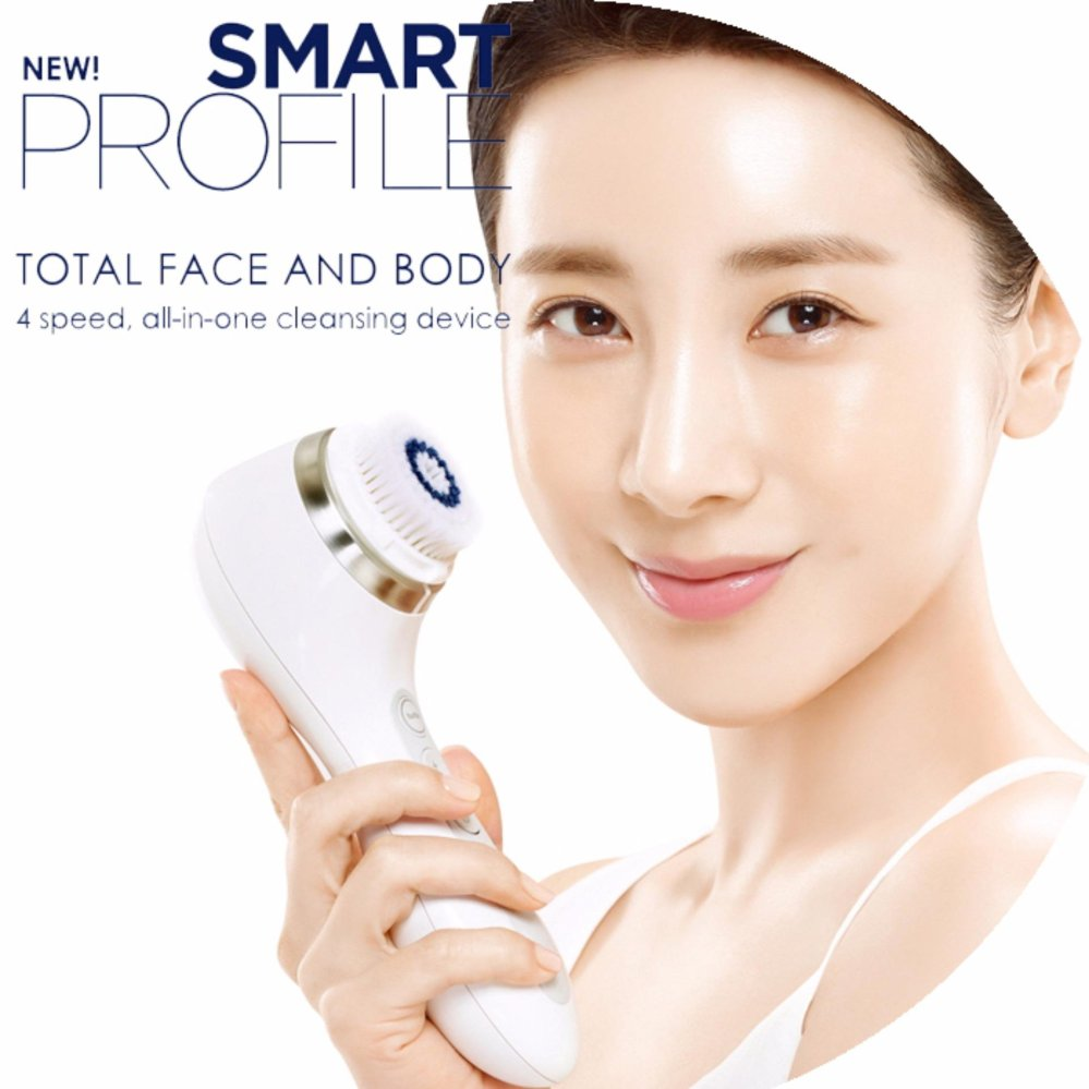Clarisonic Smart Profile Total Face & Body 4Speed all in oneCleansing Device - intl