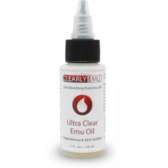 CLEARLY EMU Ultra Clear Emu Oil 1 oz AEA Certified