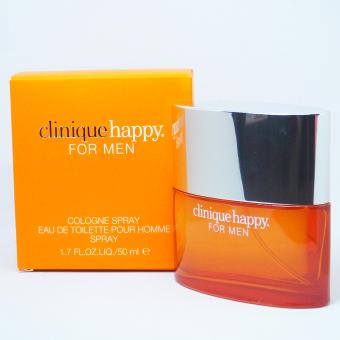 Clinique Happy Cologne Spray Eau De Toilette Perfume for Men 100ml