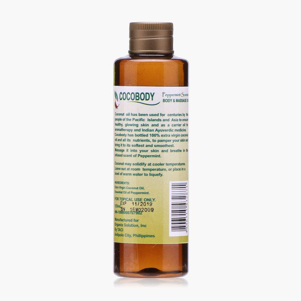 Cocobody Virgin Coconut Body and Massage Oil Set
