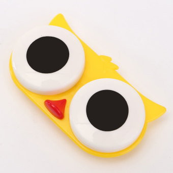 Contact Lens Box Case Cute Animal Portable Storage Soak Cleaning - 4
