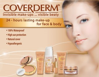 Coverderm CC Cream for Face 40ml (Light Beige) - 2
