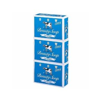 Cow Beauty Soap Blue Variant set of 3