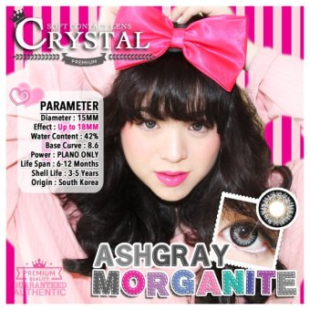Crystal Morganite Contact Lens (Gray) - picture 2