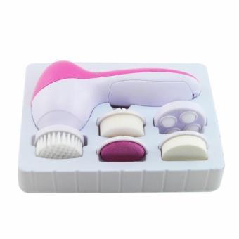 Deep Clean 6 In 1 Electric Facial Cleaner Face Skin Care BrushMassager Waterproof Spin Body Cleansing Facial Pore Cleaner - intl Price Philippines