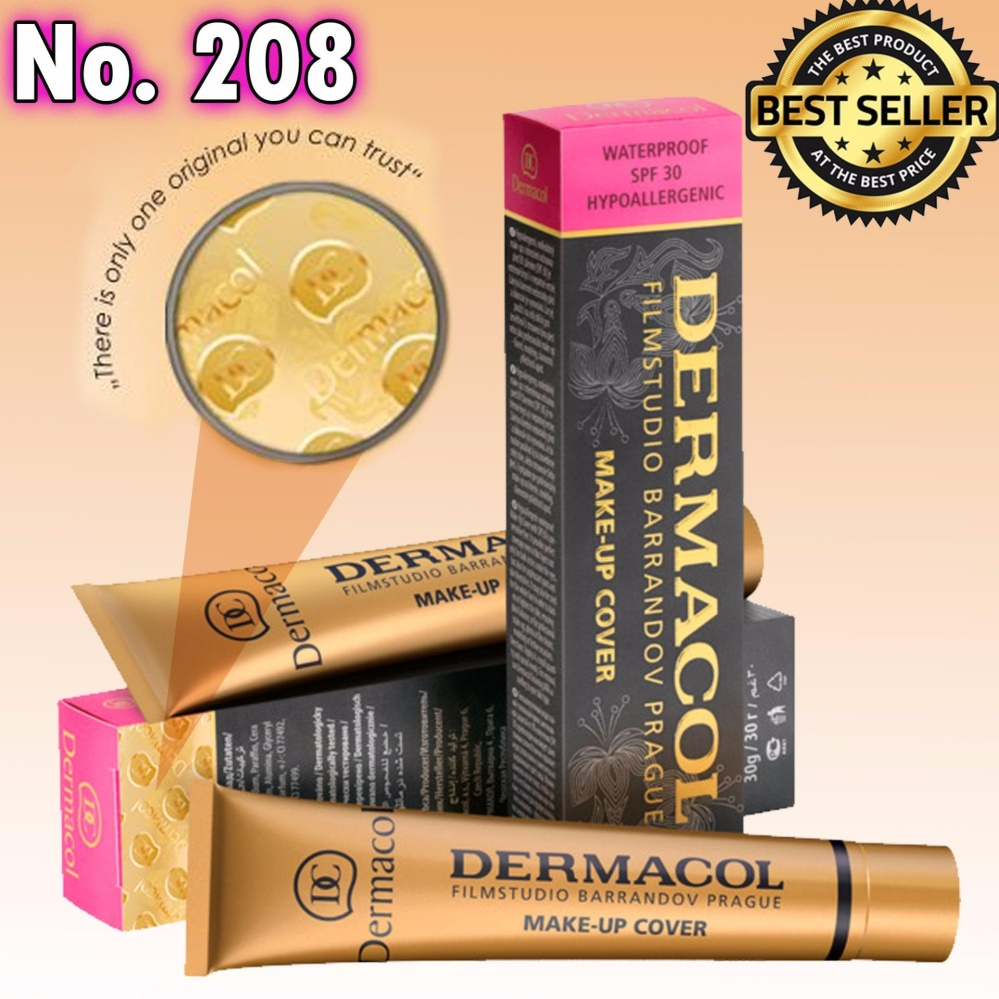 Dermacol Make-Up Cover Foundation Shades No.208 Philippines
