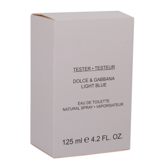 Dolce & Gabbana Light Blue Eau De Toilette for Men 125ml (Tester) - picture 2