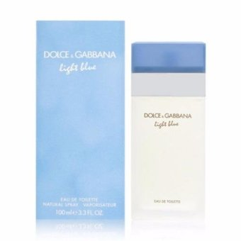 Dolce & Gabbana Light Blue Perfume for Women Eau De Toilette 100ml (US TESTER)