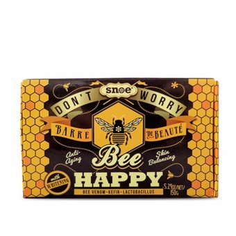 Don't Worry Bee Happy Barre de Beaute 5.29oz/net/150g Price Philippines
