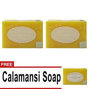 Dr. Alvin Buy 2 Licorice Whitening Soap Take 1 FREE Calamansi Soap