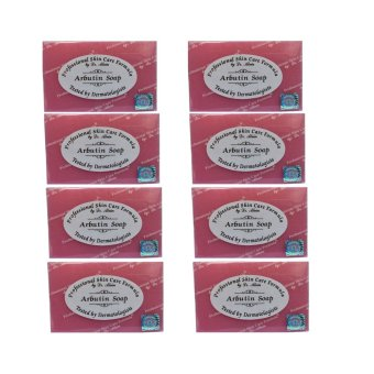 Dr. Alvin Professional Skin Care Formula Arbutin Soap 135g Set of 8