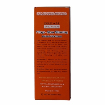 Dream Woman Slimming Cream Fat and Cellulite Burner 200ml - 2