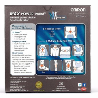 Electrotherapy Max Power Relief - intl - 5