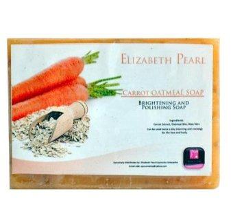 Elizabeth Pearl Carrot Oatmeal Soap