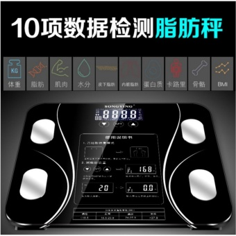 Fat Scale Screen Body Fat Electronic Body Weight Scale Body Composition Analysis Health Balance Intelligent Home - intl - 3