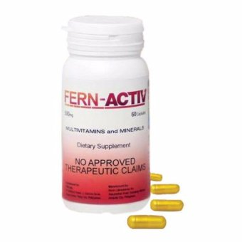 FERN ACTIV (Multivitamins and Minerals) 60 softgel capsules