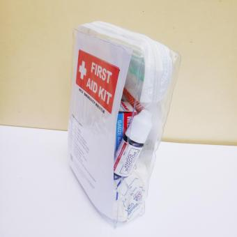 First Aid Medical and Survival Kit with Emergency Whistle TravelPouch 1 - 3