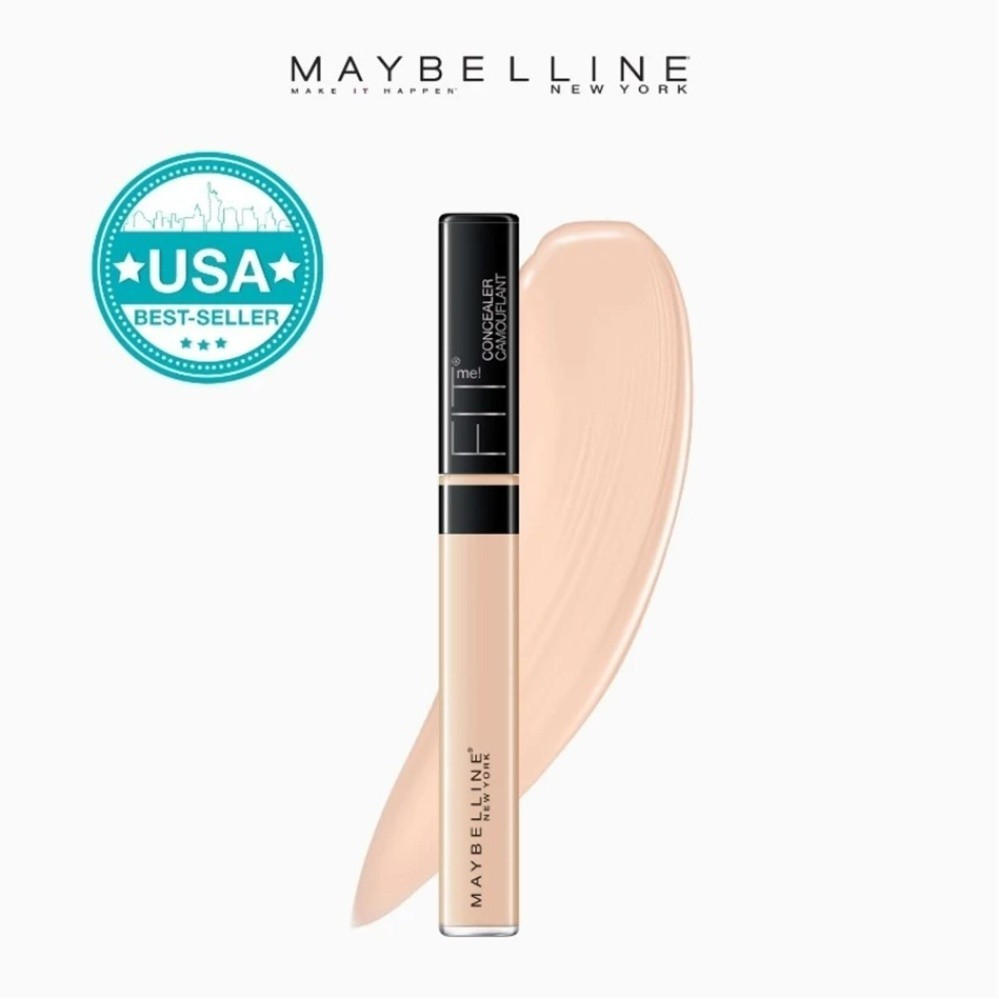 Fit Me Flawless Natural Concealer - 10 Light [USA Bestseller] by Maybelline Philippines