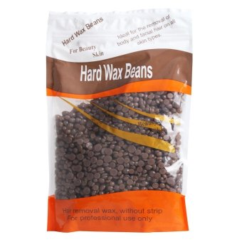 (FREE Wiping Sticks) 300g Depilatory Hot Film Hard Wax Beans Pellet Waxing Bikini Hair Removal Wax Stripless Full-Body Wax Beads(Chocolate)