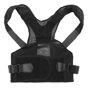 Full Adjustable Posture Back Shoulder Corrector Support LumbarWaist Brace Belt S - intl Price Philippines