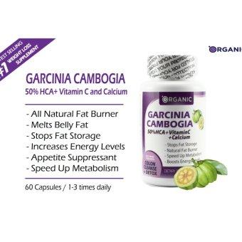 Garcinia Cambogia Pure 50% HCA + Vit C + Calcium + Chromium, All Natural Weight Loss, Fat Burner, Clinically Proven - 4