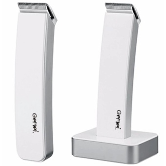 Gemei 717 Electric Hair Clipper and Trimmer Razor (White)