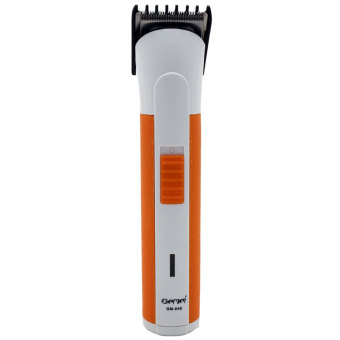 Gemei GM-646 2 in 1 Electric Hair Clipper Rechargeable Hair Trimmer(White/Orange) Price Philippines