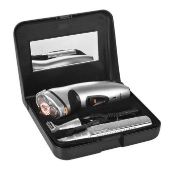Gemei RSCX-5800 3 in 1 Shaver Set (Silver) Price Philippines