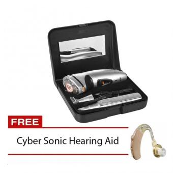 Gemei RSCX-5800 3 in 1 Shaver with Free Cyber Sonic Hearing Aid Price Philippines