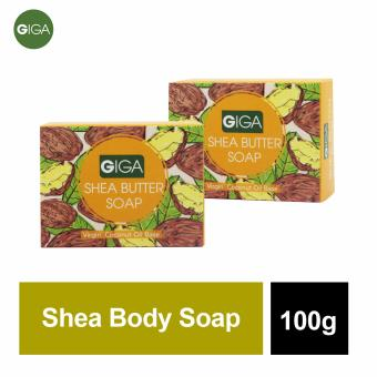 Giga Shea Butter Soap 100g Set of 2
