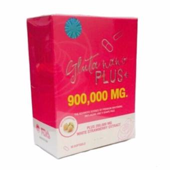 Gluta Nano Plus+ 900000mg Glutathione Softgel Bottle of 30