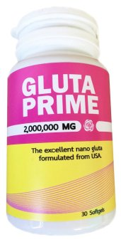 Gluta Prime 2,000,000 mg Glutathione 30 Softgels Price Philippines